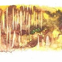 Illustration for Svetlana Majchrakova's book The Elves and the Knighthood. Combined technique