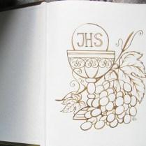 Book greetings, watercolor