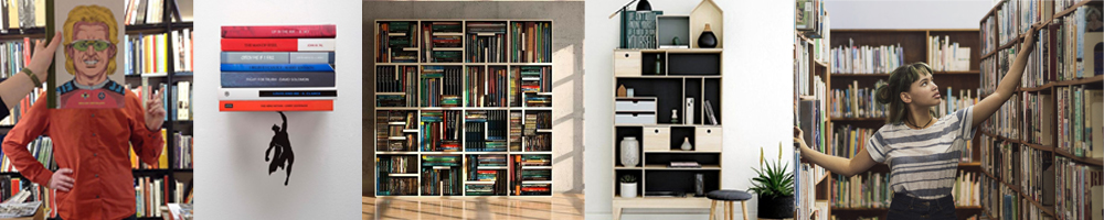 meubles de bibliothèque pour le rangement des livres