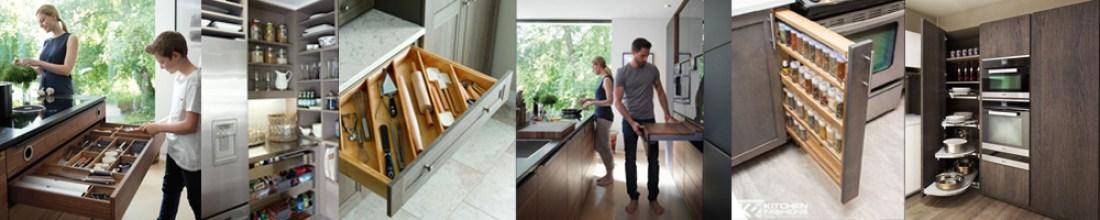 meubles de cuisines, tiroir corossolier et range couvert