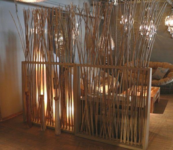 cloison végétal en bambou