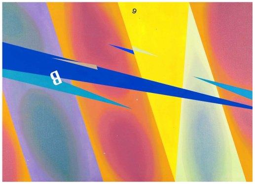 GIANLUCA SGHERRRI - Senza titolo, 2008, Olio su tela, 100x140cm