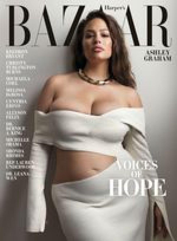 Ashley Graham para Harper´s Bazaar. (Foto: Harper´s Bazaar)