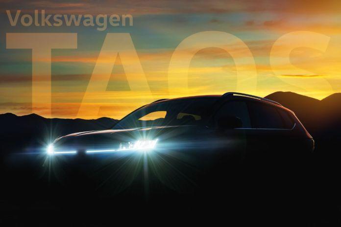 El anticipo oficial del Taos argentino, que se presentará el 13/10. Foto: Volkswagen.