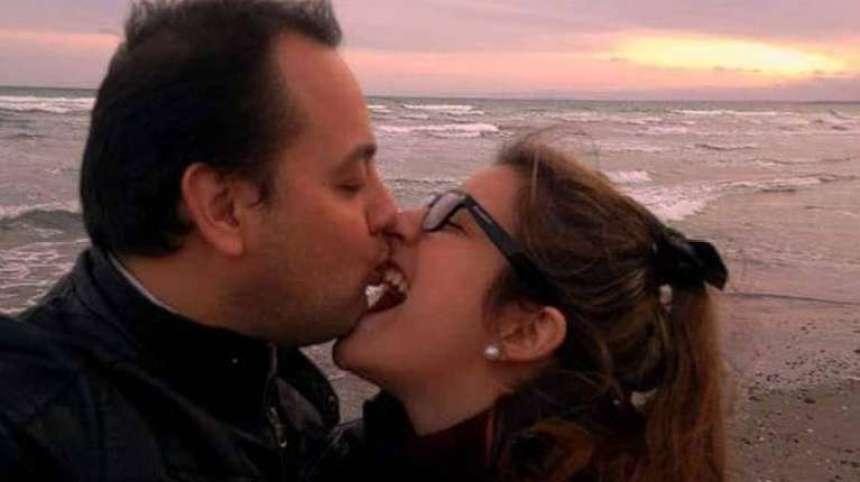 Agustina Fontenla junto a su pareja. (Foto: Facebook Agustina Fontenla).