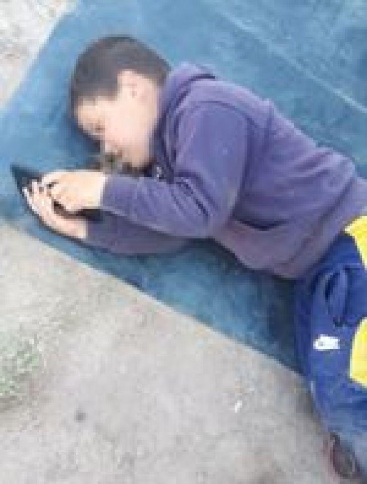 """""""Por lo menos tengan compasión al menos por mi hijo"""", pidió Daniel a la Policía."""