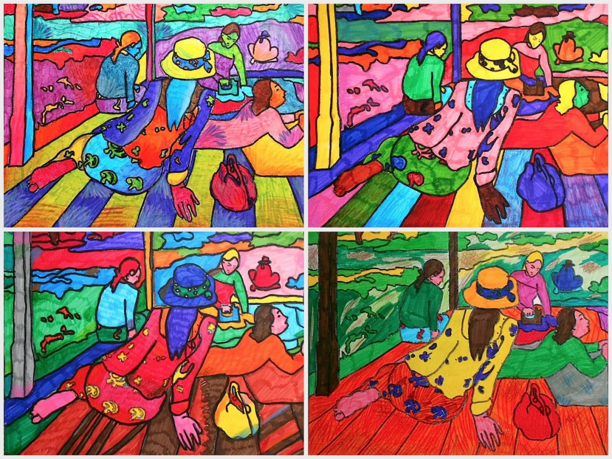 Worksheets About Gauguin