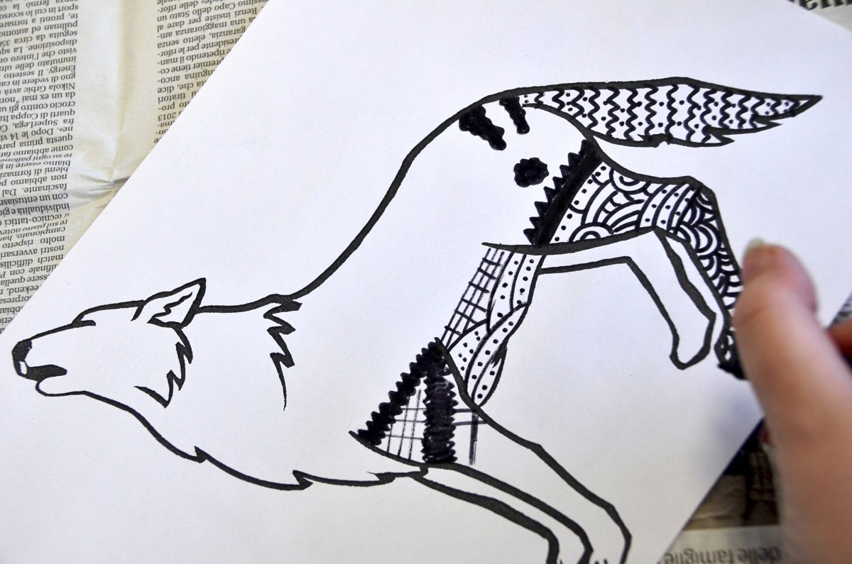 Animali Zentangle