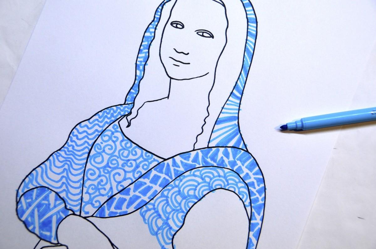 Mona Lisa 2 Worksheets