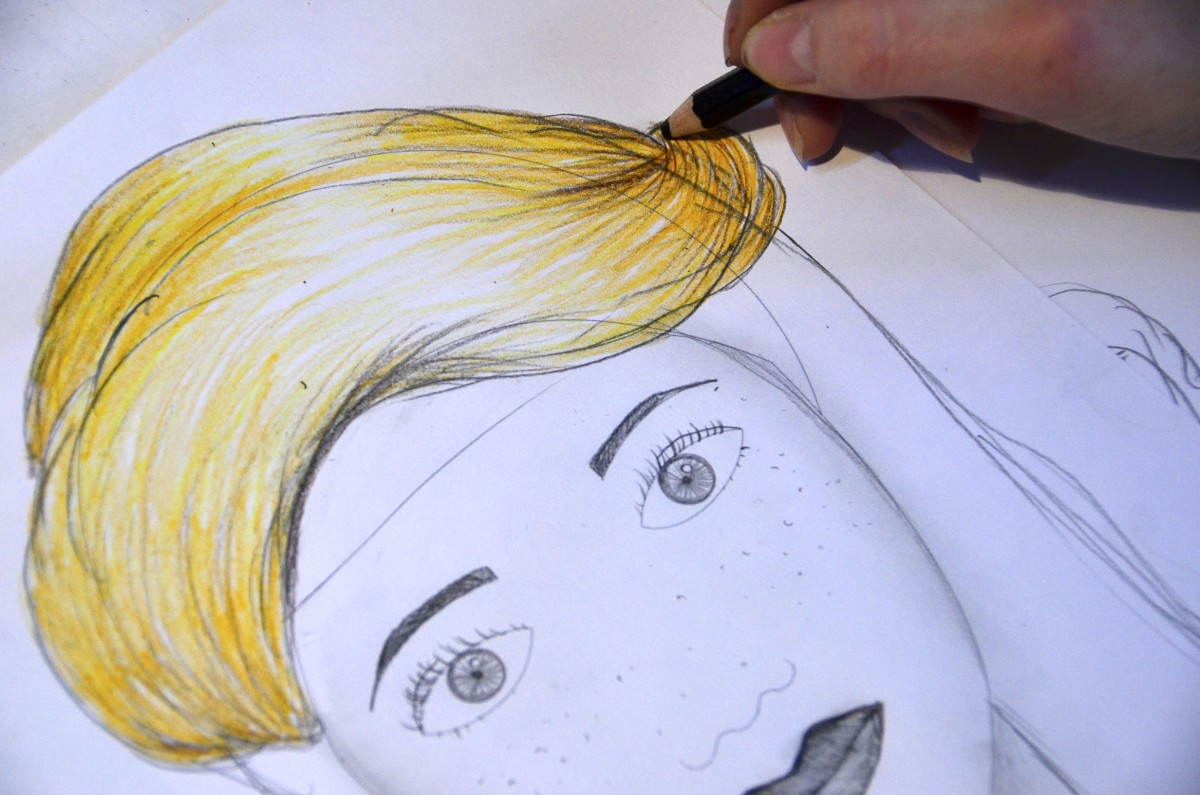 Drawing A Face Worksheet And Five Suggestions