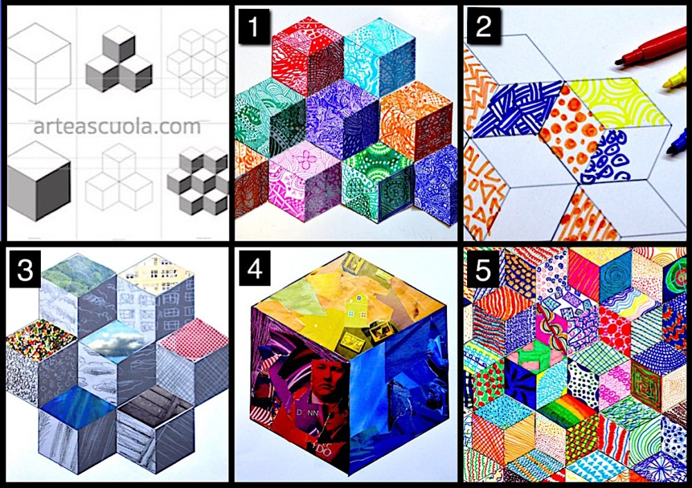 medium resolution of The cube: worksheets and 5 suggestions