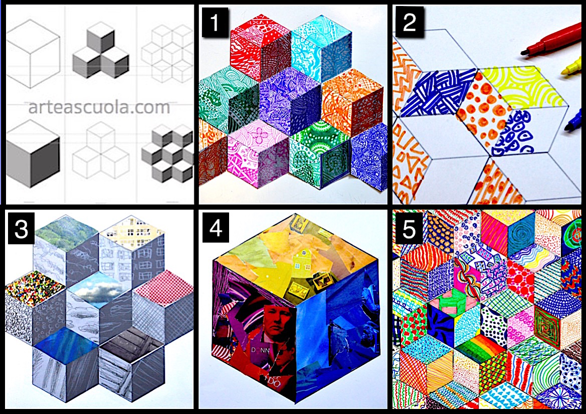 hight resolution of The cube: worksheets and 5 suggestions