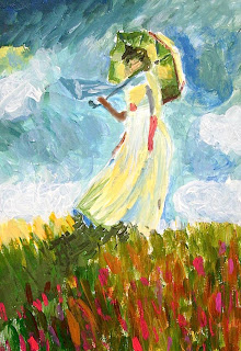 The technique of Impressionist painting