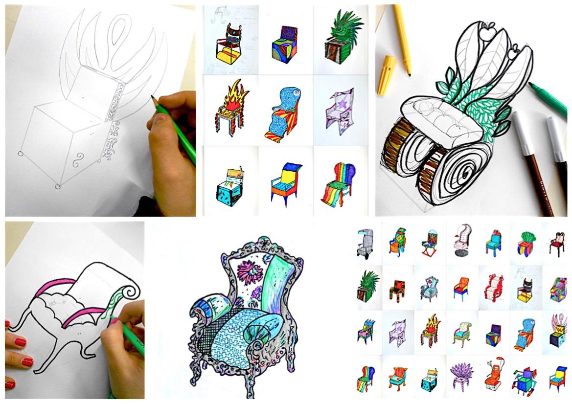 hight resolution of Design a chair: worksheet