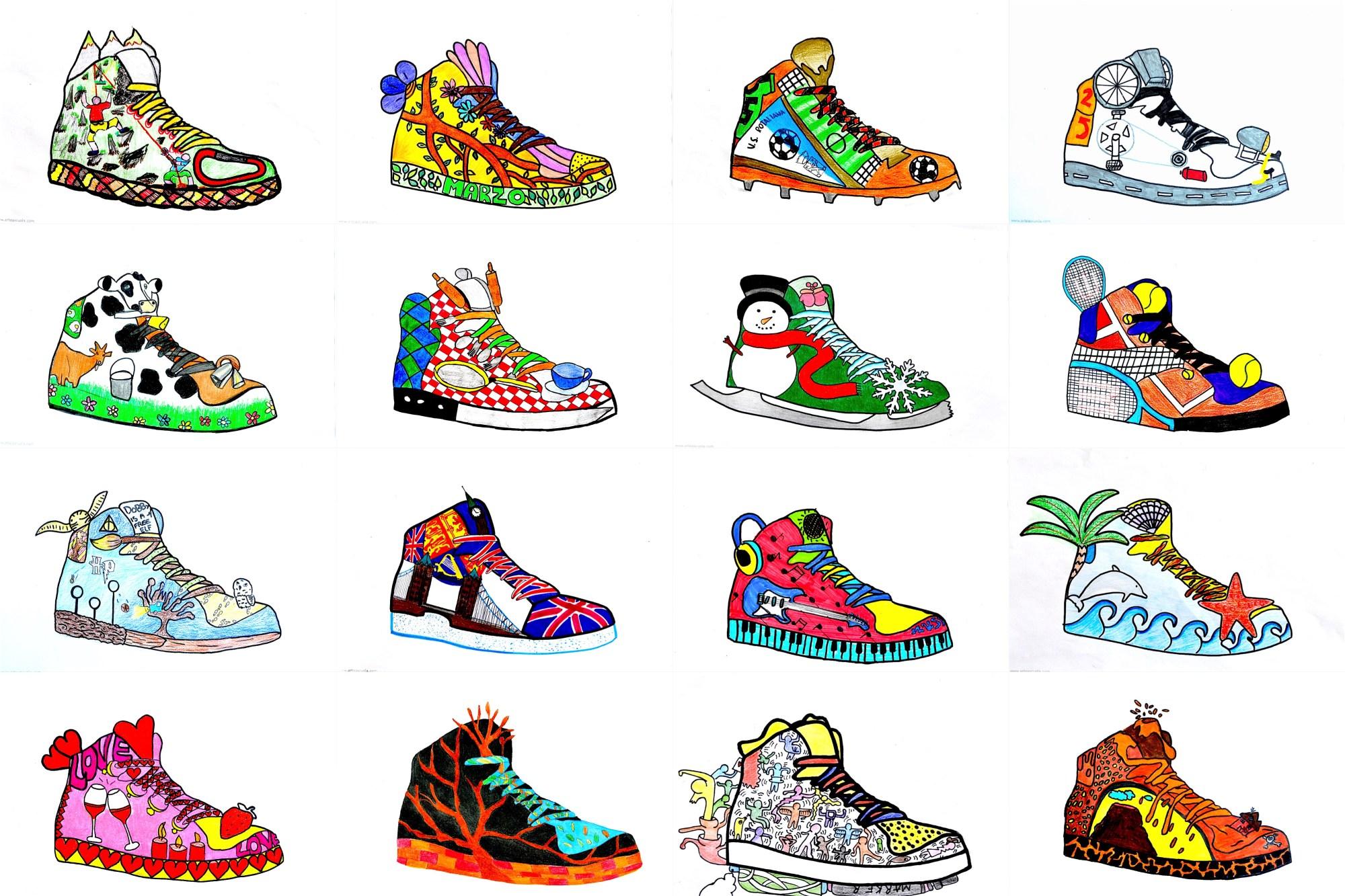 hight resolution of Sneaker Design