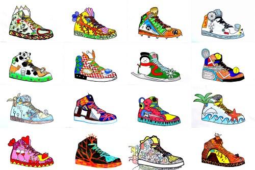 small resolution of Sneaker Design
