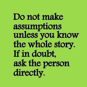assumptions
