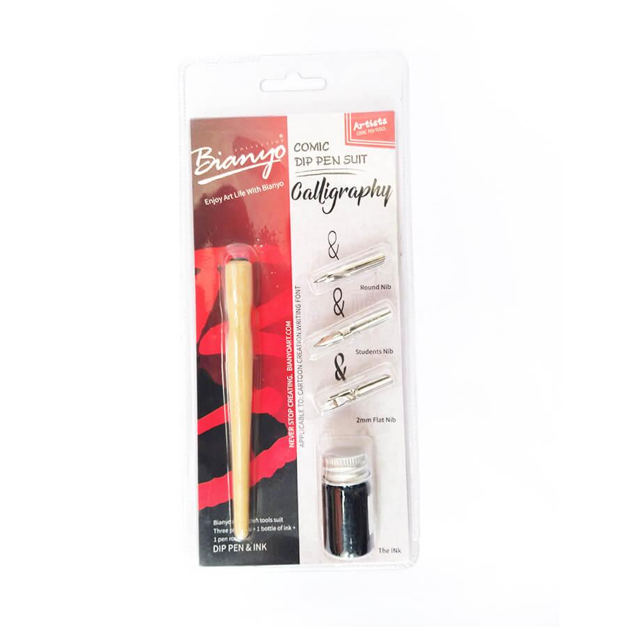 Bianyo comic calligraphy dip pen suite