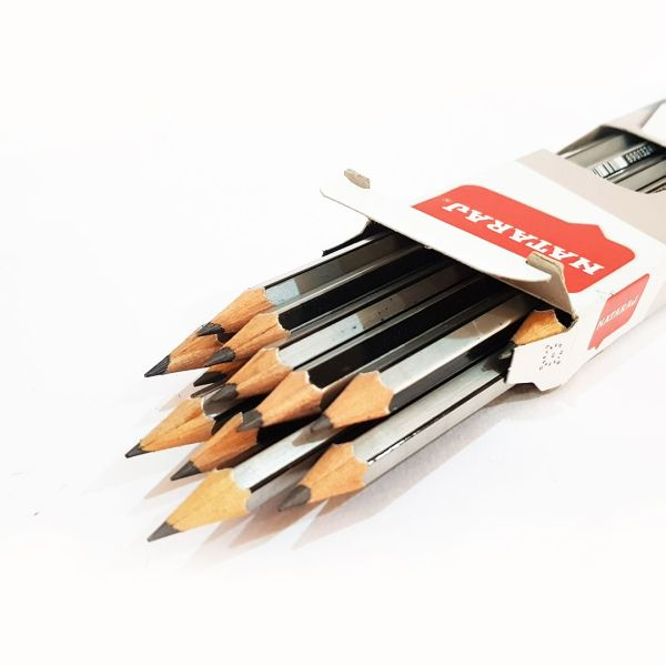 nataraj platinum extra dark 2b pencils