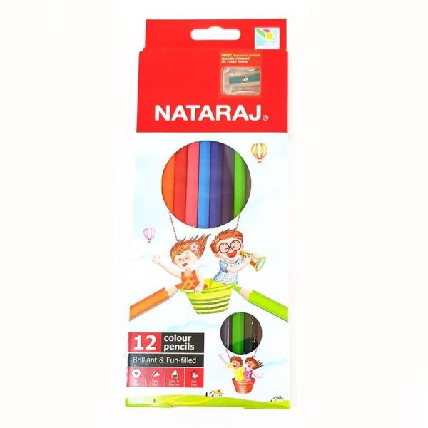 Nataraj colour pencils
