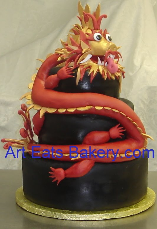 Chinese Themed Wedding And Birthday Cakes By Art Eats