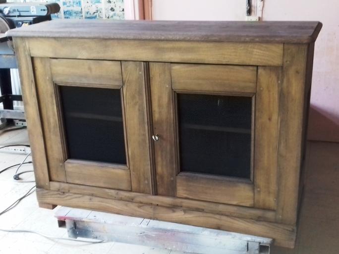 meuble bas ancien art eben