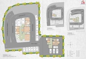 Artech Celestia, Nanthancode Layout Plan-1