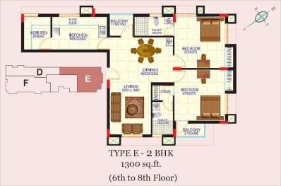 Artech Alliance, Sreekaryam Layout Type - E2