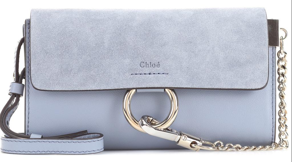 Mini carteira Chloé e o charmoso fecho.   Arte com Tecidos 30974a87e9