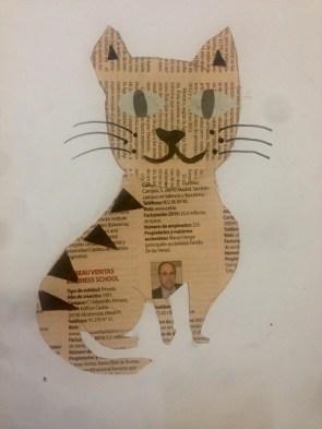 Newspaper cats 1