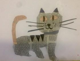Newspaper cats 2