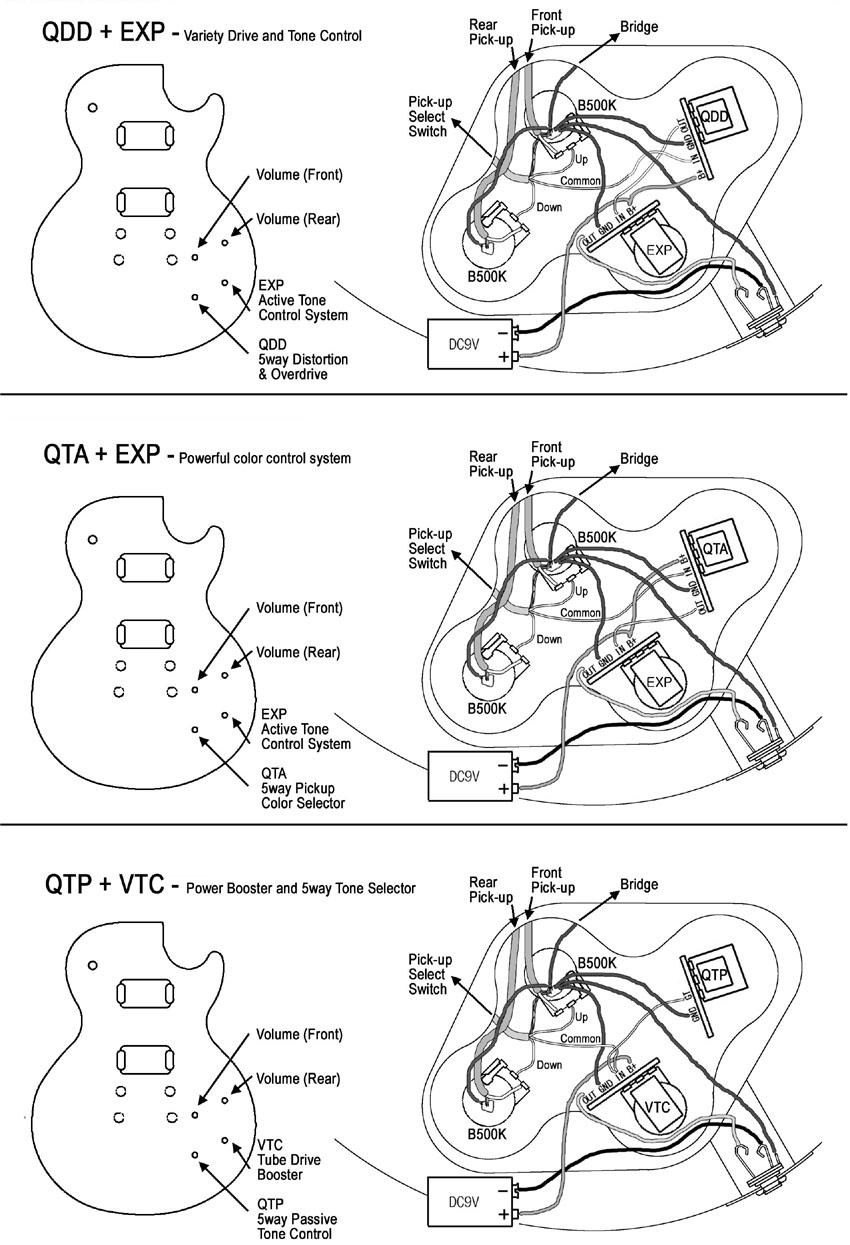 hight resolution of vtc with les paul 18 qdd with las paul 19 sda p with speaker guitar