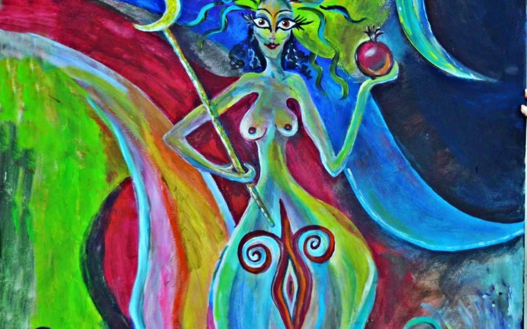 Hera – Vorhellenistische Große Göttin, griechische Himmelskönigin, oberste olympische Muttergöttin