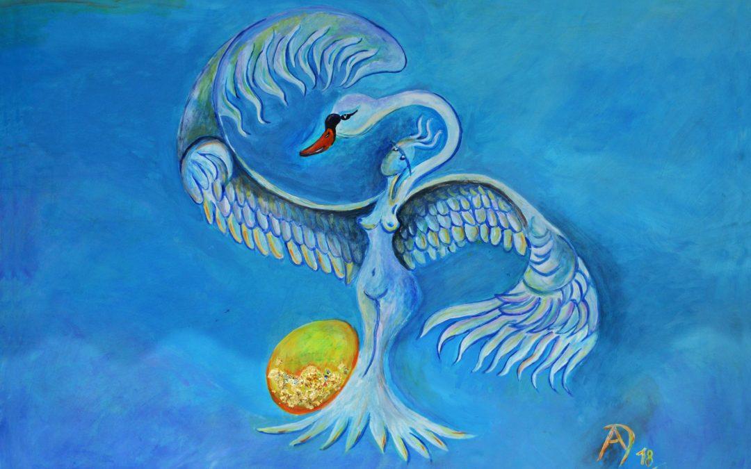 Leda – Kretische Göttin, Mutter des Welteneies