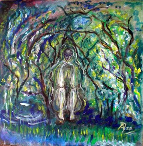 Abnoba – Keltische Göttin der Wälder, Quellen und Flüsse