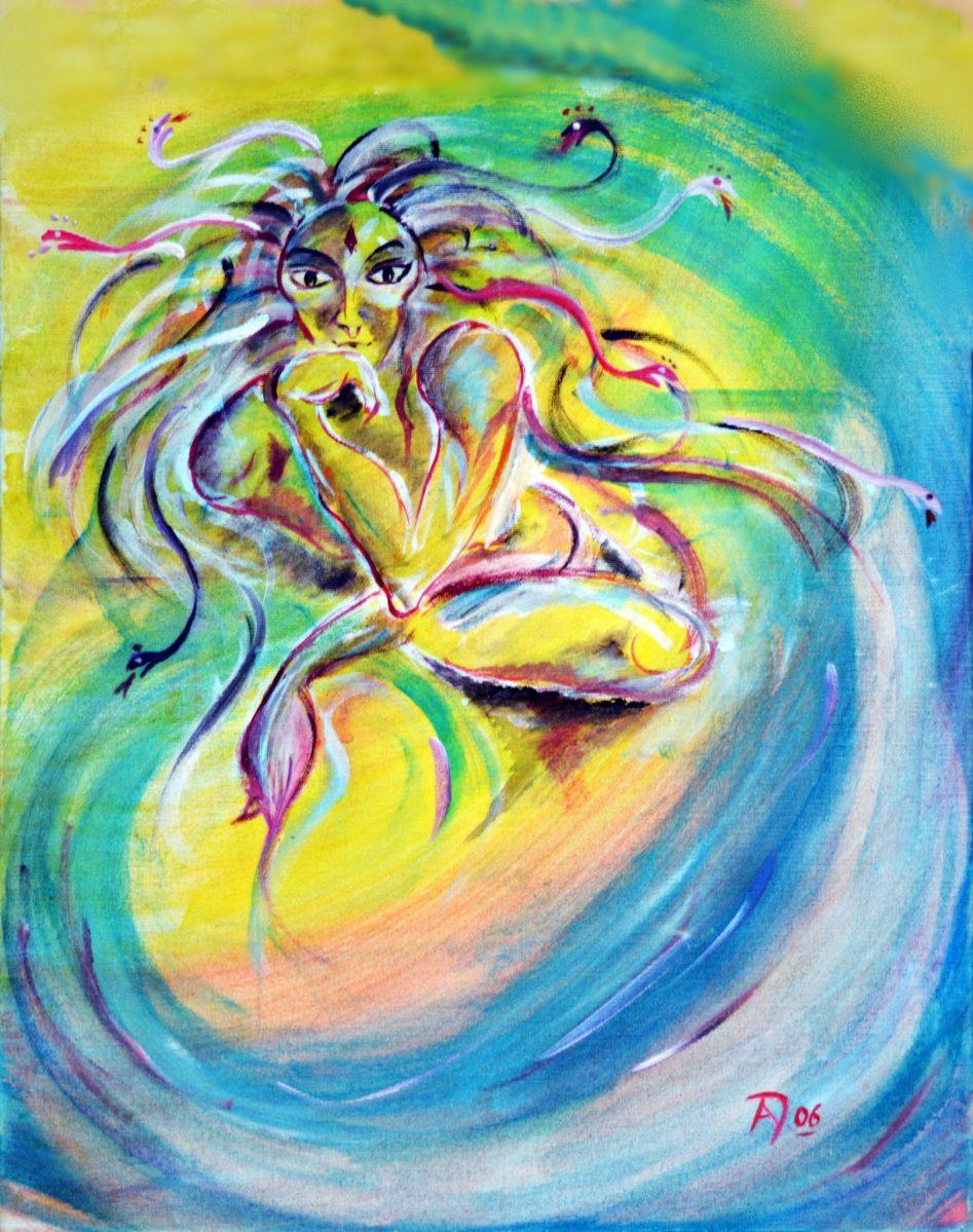 Medusa - Griechische Göttin des Schutzes