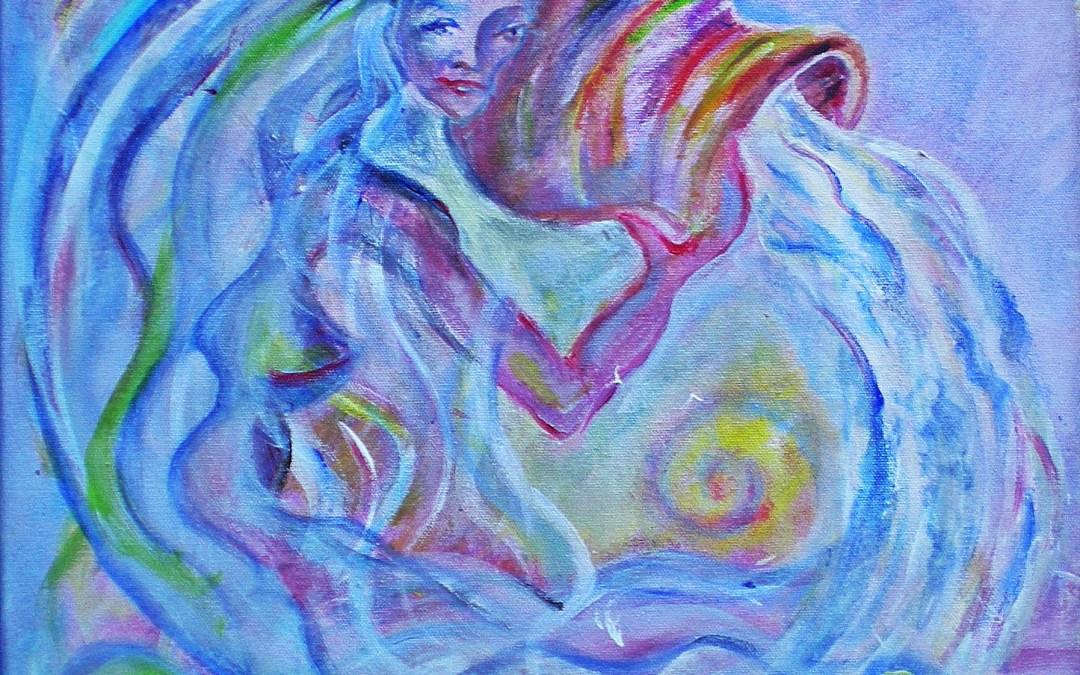 Arnamentia – Keltische, altenglische Göttin der Quellen, der fließenden Gewässer und des klaren Wassers