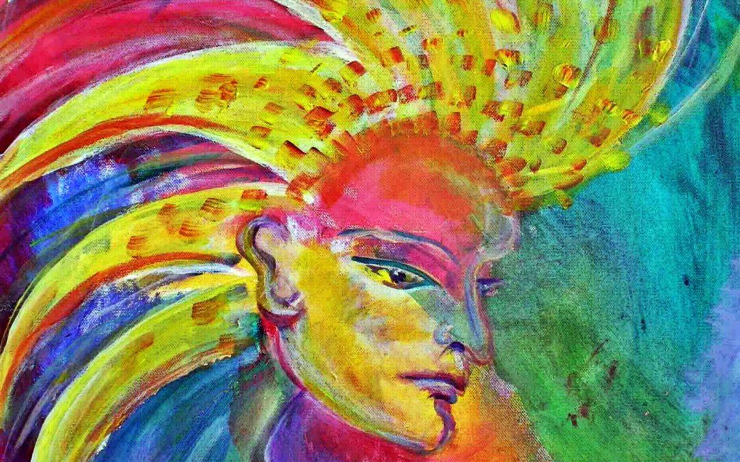 Grian – Irisch-keltische Sonnengöttin bzw. Feenkönigin