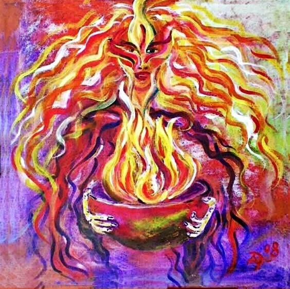 Hestia – Griechische jungfräuliche Göttin der Herd- und Ritualfeuer