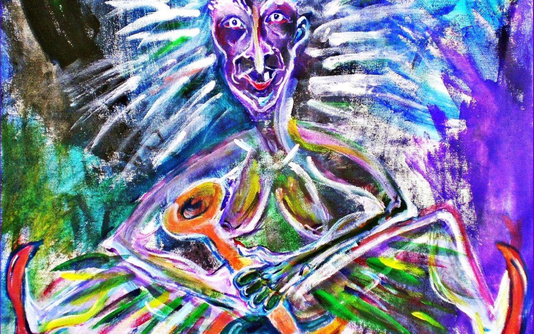 Baba Yaga – Russische, osteuropäische und slawische Urgöttin, die Leben und Tod verkörpert