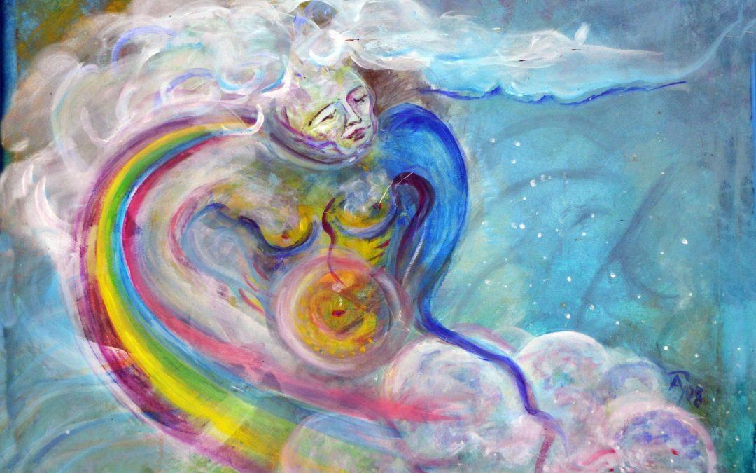 Holla – Muttergöttin im alpenländischen Raum, germanische Erd- und Himmelsgöttin, Göttin der Jahreszeiten, Schutz- und Heilungsgöttin