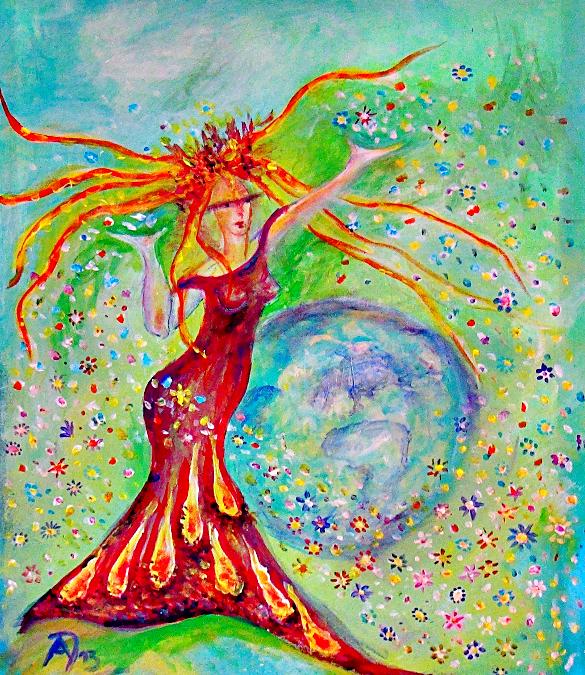 Maia – Griechische Nymphe bzw. römische Göttin des Frühlings, der Wärme und des Wachstums