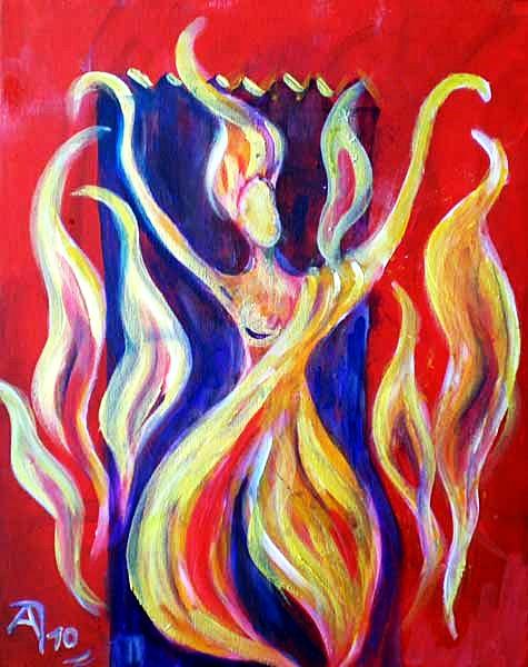 Ot-ene – Mongolische Göttin des Herdfeuers, des Heimes und der Hochzeiten