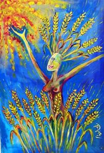 Siff – Nordische Göttin der Fruchtbarkeit, des Getreides, der Ernte