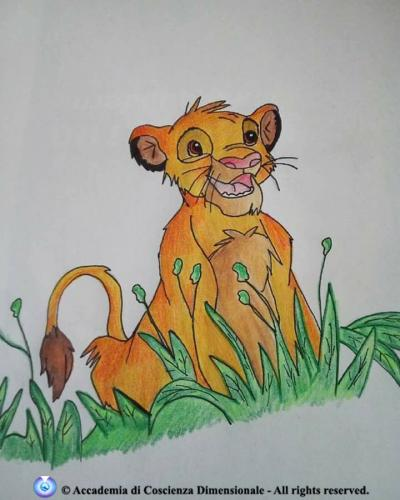 Simba da il re Leone