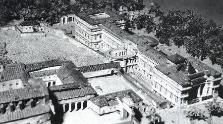 Maqueta de León Gil de Palacio de 1830, Museo Municipal.