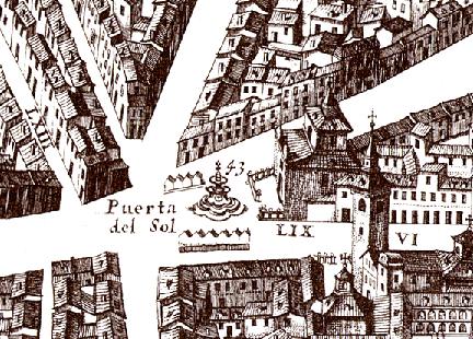 Plano de Texeira 1656