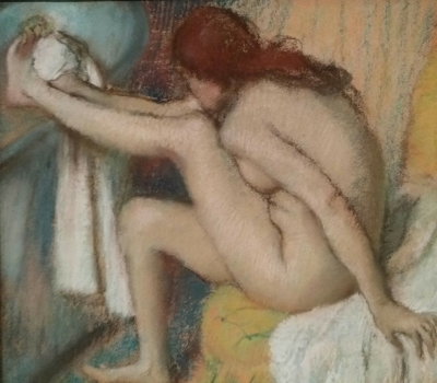 Metropolitan. Desnudo de Degas