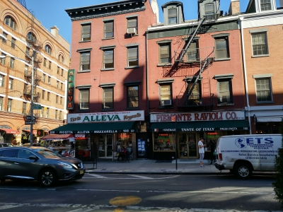 Mulberry St en Little Italy