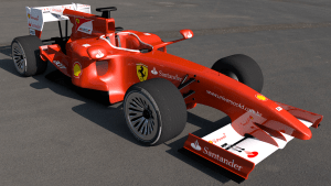 Ferrari C4D